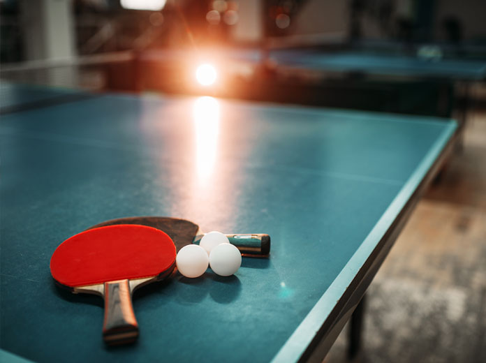 Table tennis guide